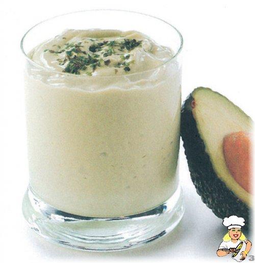 Avokado Soya Yoğurdu İçeceği