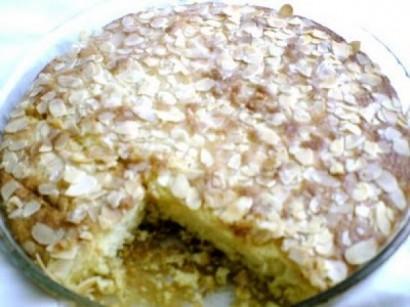 Bademli Tereyagli Alman Keki Butter Kuchen