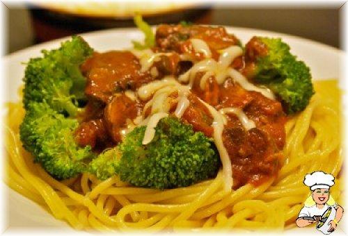 Brokoli ve Mantarlı Spagetti