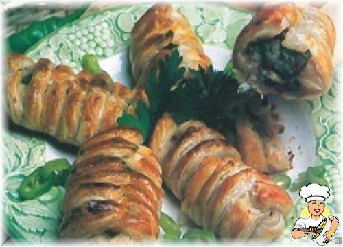 Fasulyeli Milföy Böreği