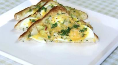 Haşlanmış Yumurtalı Omlet