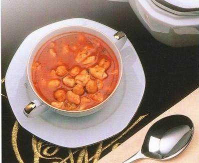 Nohutlu Mantı Çorbası Tarifi