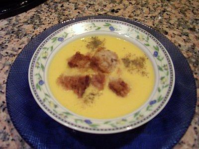 Patatesli Balkabağı çorbası Tarifi