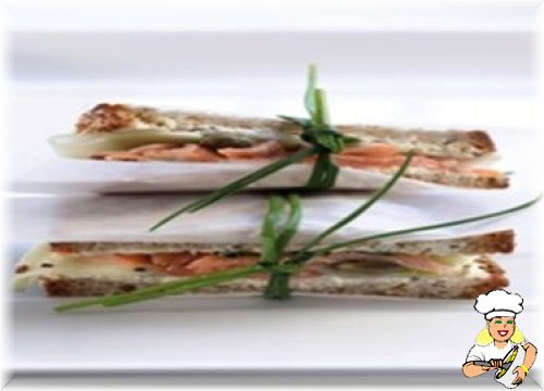 Viyana Usulü Alabalıklı Sandviç