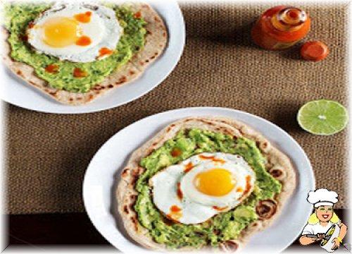Yumurtalı Avokadolu Kahvaltı Pizzası