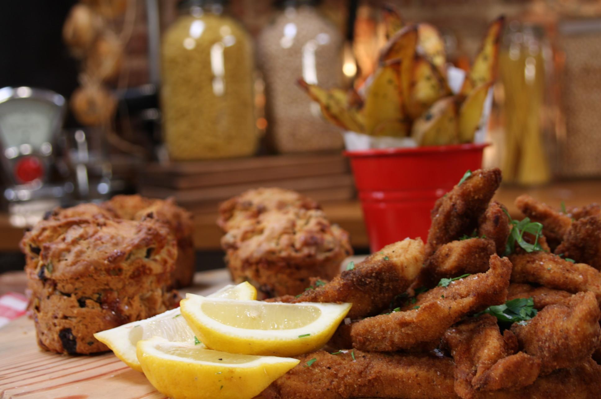 Cajun Baharatlı Tavuk, Fırın Patates