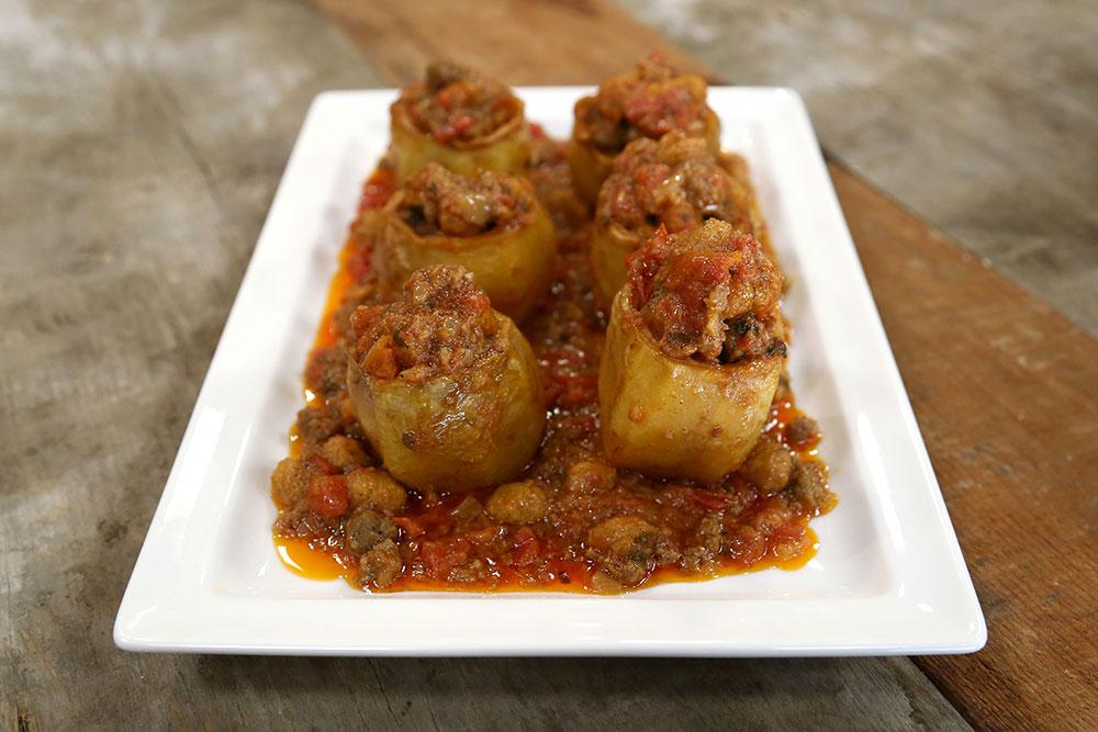 Köfteli Patates Çanakları
